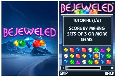 بازی موبایل Bejeweled به صورت جاوا