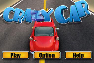 بازی آیفون ماشین دیوانه Crazy Car v1.4 برای دانلود