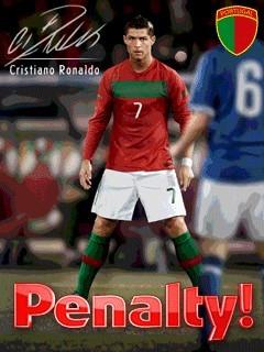 بازی موبایل Cristiano Ronaldo Penalty به صورت جاوا