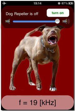نرم افزار آزاردهنده ی سگ ها در آیفون با Dog Repeller v1.0.4
