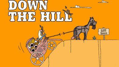 بازی موبایل Down the hill به صورت جاوا برای گوشی های ۳۶۰×۶۴۰
