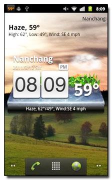 نرم افزار پیش بینی وضع هوا با GO Weather v1.6.5 مخصوص گوشی های آندروید