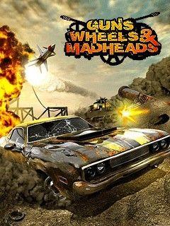 بازی فوق العاده Guns Wheels Madheads به صورت جاوا