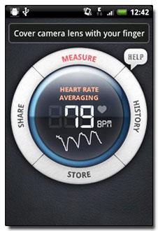 نرم افزار اندازه گیری ضربان قلب با Instant Heart Rate Pro v2.0.5 – برنامه آندروید