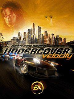 بازی موبایل معروف Need For Speed: Undercover Velocity  به صورت جاوا