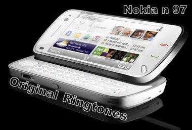 دانلود زنگ های فابریک N97 – زنگ های Nokia N97 Original ringtones