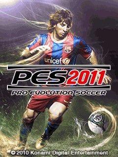 بازی موبایل و بسیار معروف Pro Evolution Soccer 2011