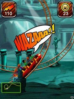 بازی موبایل Rollercoaster Rush Underground 3D به صورت جاوا