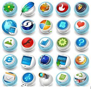 دانلود آیکون های گرد متنوع – Rounder Icons