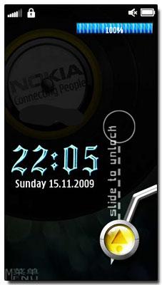 آنلاک گوشی به روش هایی زیبا  SPP SlideUnlock v3.10 – نوکیا s60v5