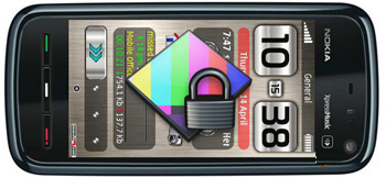 دانلود ScreenLock FX – تغییر صفحه قفل گوشی های نوکیا سری ۶۰ ورژن ۵