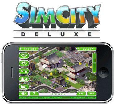 بازی معروف SimCity Deluxe برای آیفون