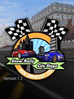 بازی مسابقه در شهر : Snow Rally City Stage برای موبایل