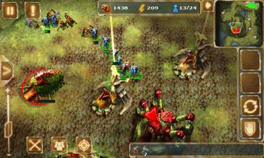 بازی استراتژیک Starfront: Collision HD برای گوشی های آندروید