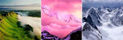 مجموعه عکس ها و تصاویر زیبا از کوهستان