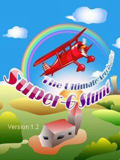 بازی موبایل جاوا Super-G Stunt: Ultimate به صورت ۳ بعدی