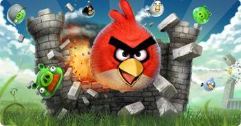 بازی Angry Birds  ( پرندگان خشمگین) برای کامپیوتر