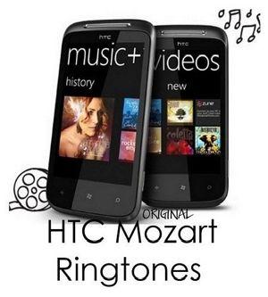 زنگ های فابریک گوشی Htc Mozart