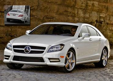 مجموعه تصاویر با کیفیت از Mercedes-Benz CLS550 سال ۲۰۱۲