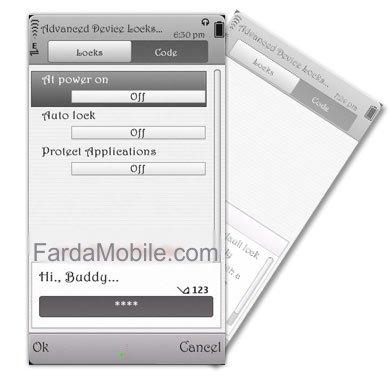 دانلود نرم افزار قفل گوشی با Advanced Device Locks v2.08.120 برای نوکیا