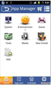 مدیریت کامل بر روی نرم افزار های نصب شده در اندروید با App Manager v1.0