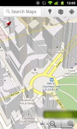 دانلود ورژن جدید گوگل مپ Google Maps v5.8.0