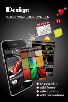 نرم افزار طراحی قفل صفحه نمایش آیفون با Lock Screen Designer