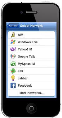 مسنجر همه منظوره Meebo برای آیفون و آیپاد و گوشی های آندروید