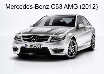 مجموعه تصاویر بی نظیر از Mercedes-Benz C63 AMG سال ۲۰۱۲