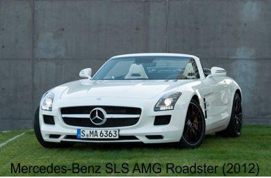 مجموعه تصاویر با کیفیت از Mercedes-Benz SLS AMG Roadster 2012