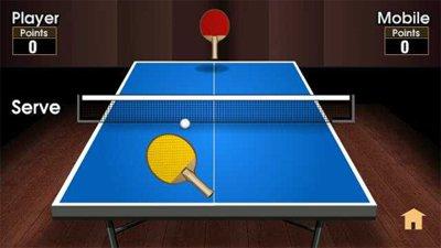 دانلود بازی جاوا Mobi Table Tennis 1.0 برای گوشی های ۳۶۰×۶۴۰