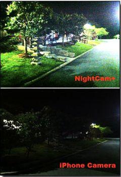 نرم افزار آیفون و آیپاد تاج عکس گرفتن با کیفیت بهتر در شب – NightCam+ v1.6