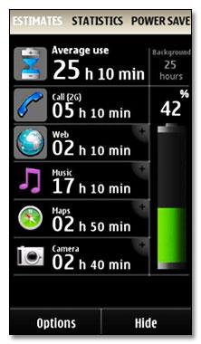 مشاهده دقیق باتری گوشی های سری ۶۰ ورژن ۵  با NokiaBatteryMonitor 2 v2.2