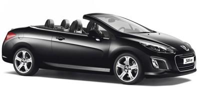 مجموعه تصاویر و بررسی Peugeot 308 CC 2012