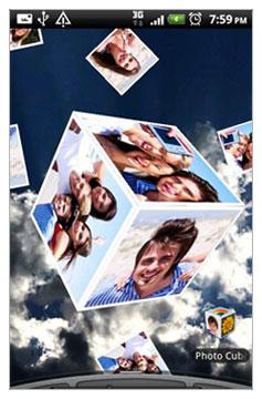 تجربه والپیپر های زنده با Photo Cube Live Wallpaper v1.19 در آندروید