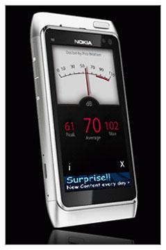 دانلود نرم افزار کنترل سطح صدا PicoBrothers Decibel Meter – سیمبیان ۳