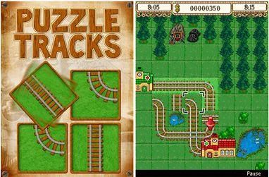 دانلود بازی موبایل بسیار زیبا Puzzle Tracks با فرمت جاوا