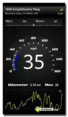 نرم افزار اندازه گیری سرعت اینترنت گوشی با Speed View Pro v2.8 برای آندروید