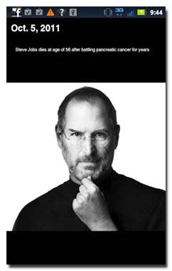 دانلود کتاب زندگینامه Steve Jobs Timeline v1.0.0 برای آندروید