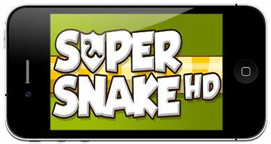 بازی مار فوق العاده Super Snake HD برای آیفون