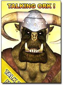 دانلود نرم افزار آندروید دیو سخنگو – Talking Ork v.1.4