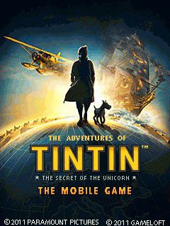بازی موبایل The Adventures of Tintin: The Secret of the Unicorn به صورت جاوا