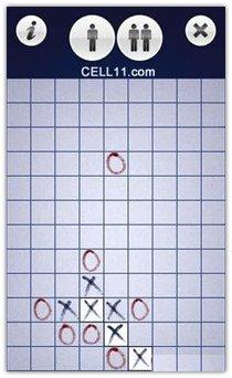 بازی نوکیا Tic Tac Toe Touch برای سیمبیان ۳ و نوکیا سری ۶۰ ورژن ۵