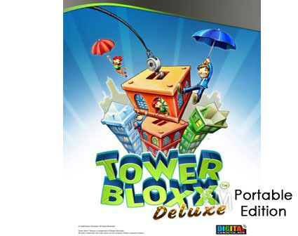 بازی کم حجم رایانه – Tower Bloxx Deluxe Portable Edition Game