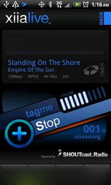 دانلود نرم افزار آندروید رادیو آنلاین XiiaLive Online Radio v2.2.3