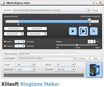 ساخت رینگتون و زنگ موبایل با استفاده از Xilisoft ringtone maker 2.0.3.0715