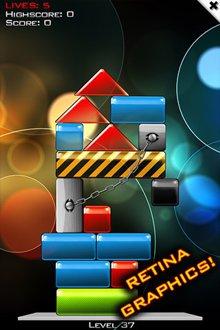 بازی زیبا و سرگرم کننده Glass Tower 3 برای آیفون