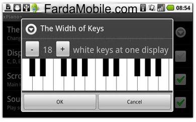 دانلود نرم افزار پیانو xPiano v2.4.11 برای گوشی های آندروید
