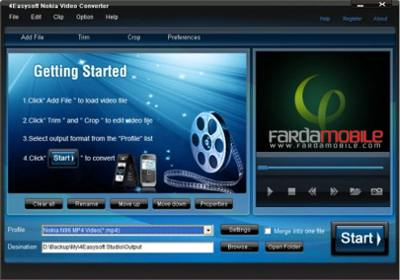 مبدل برای نوکیا ۴Easysoft Nokia Video Converter v3.1.16