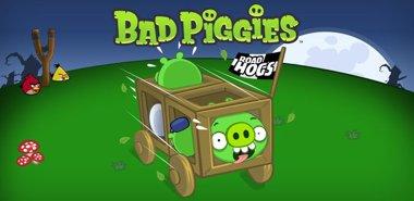 دانلود بازی سرگرم کننده خوک های بد Bad Piggies v1.2.0 – اندروید